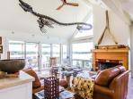Main Living Room opens to Deck and Gorgeous Waterviews
