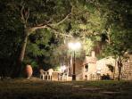 The Bbq at night