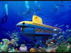 Have a trip with the submarine, its fun>