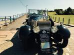 1920's Touring Car at Seafront (20 minutes walk from home)