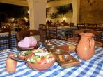 Marvelous meze awaits you at 'Voreas' - Taverna - just a 5 minute walk from the apartment