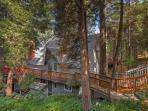 Klamath Mountain Retreat is a beautiful multilevel home