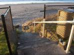 We have the best beach access anywhere