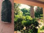 Villetta Rosa, Villaggio Piras, La Maddalena Veduta del giardino
