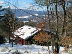 Chalet Les Bruyères: winter