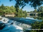 Vibrac - just 10 minutes away - perfect for picnics, bridges, walks, fishing and kayaking.