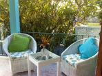 Sunlight front terrace