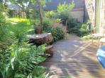 Garden area, orchard