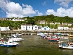 Water sports and fishing available at Porthleven. Fantastic restaurants and pubs.