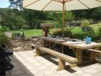 picnic and barbeque area for 12-14 people