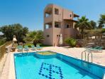 Argiro Villa I, amazing pool, garden and amazing views!