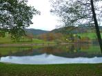 Het meer van St. Clément
