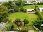 View of the garden and beautiful surroundings from the loft