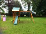 Play centre in the Back Garden