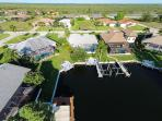 Direct canal access and close to the Nature Preserve