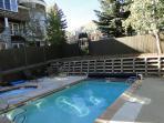 Heated year round pool at Snowblaze - Park City