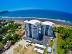 Diamante del Sol and Jaco beach aerial