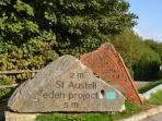 Cycle trails in and around St Austell including the world famous Eden Project