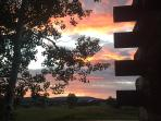 While Eating Dinner On The Deck, My Wife Said, 'Take A Picture of The Sunset.'