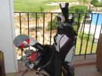 Golf Clubs for guests to use