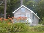 Small bungalow, sleeps 3.  Eat inside or outside, deep water frontage for enjoyment, Lg private yard