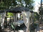 Relax in the shade of the Gazebo