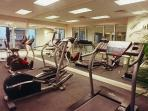 Different angle of the Fitness Room located on the 1st Floor