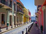 Old San Juan 5 mins away
