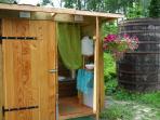 cabine toilettes sèches du tipi Ginko