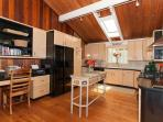What a Kitchen with Great Cabinet and Work Space