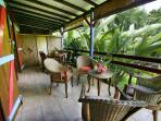 bungalow TI RACOON ..la terrasse