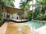 Hacienda pool w/hammock