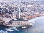 la plus belle mosquée sur la mer de Casablanca