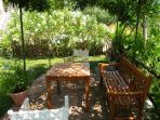 Toretta pergola in your private, large garden