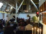 The chapel of ZeeVELD is an ideal place for intimate concerts or lectures