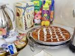 colazione italia/irlamdere inclusa  english breakfast incuded