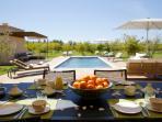 Villa Salamouni Marrakech - le Jardin - la Piscine