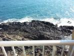 La vue depuis le grand balcon