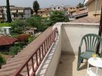 La terrazza sul tetto della villa