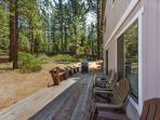 Meadow Rear Deck and BBQ