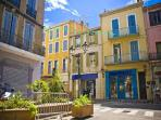 Aubagne centre - featuring typical architecture