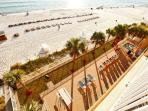 Aerial View of Pool & Beach