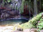 25 Fontes - Levada das 25 Fontes - Rabaçal. A casa Serramar está situada a 15 minutos do acesso