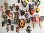 A magnificent regional mask collection