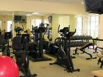 Access to clubhouse with gym