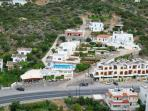 Kavousanos aerial view