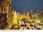 Marienplatz (town hall area) where the Christmas Market takes place is just a 5 - 8 minutes walk