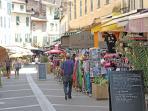 La rue Fesch , très commerçante