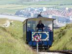 Tram on Great Orme