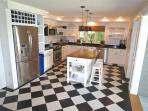 You will see the kitchen has been fully updated, with new appliances and granite counters